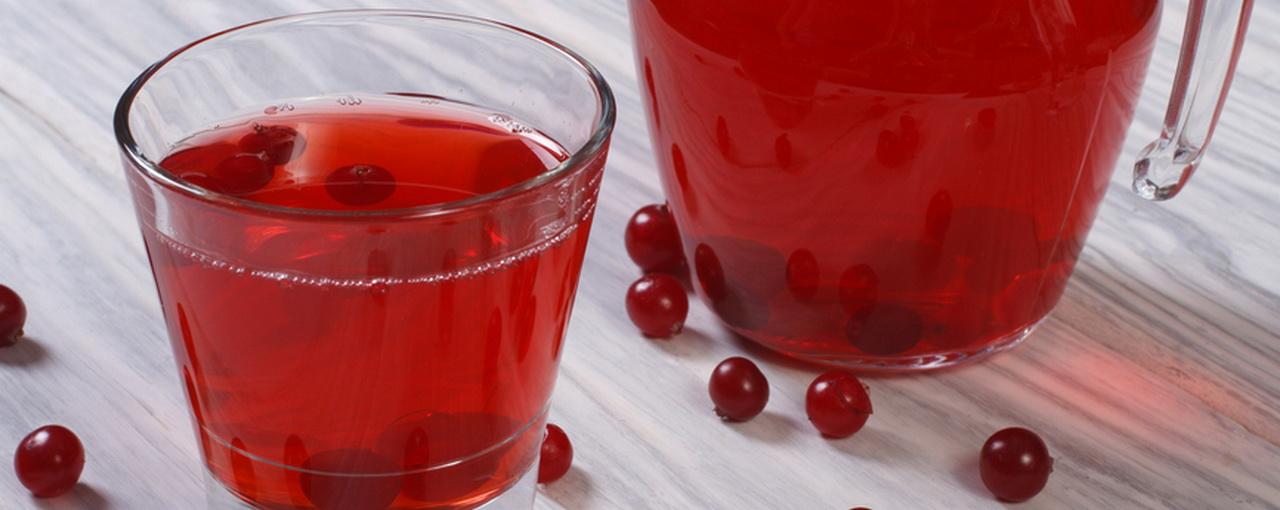 Как сделать из клюквенный морс из ягод